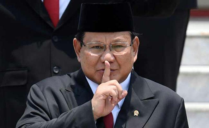 FOTO : Menteri Pertahanan Prabowo Subianto/Ist
