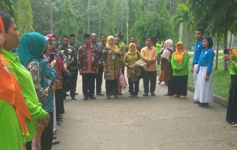 FOTO : Dokumentasi Penilaian Lomba LSS di SMP YPMM Tebing Tinggi, Kamis (06/12/18)