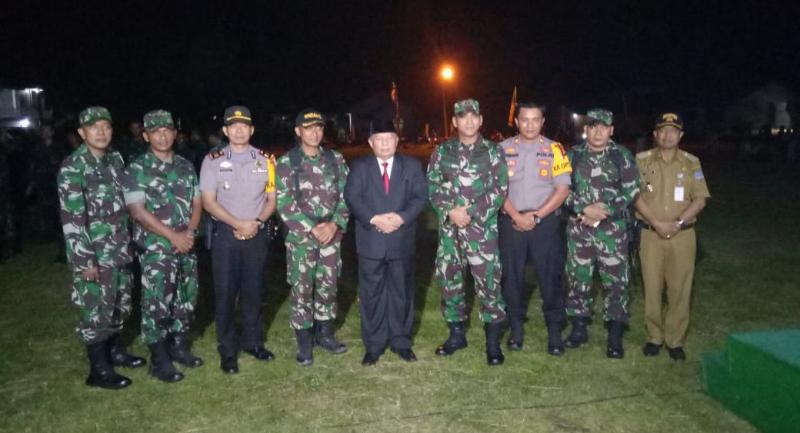 FOTO : Dokumen Serah terima Pleton Beranting Yudha Wastu Pramuka Jaya Etape ke- 6 (enam), Senin (17/12/18)