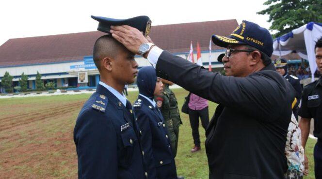 FOTO : Dokumentasi Pelantikkan 297 Taruna Baru STP Angkatan 54 Tahun Akademik 2018/2019, Rabu (19/12/18)