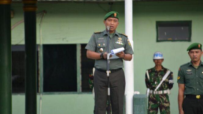 FOTO : Kepala Staf Korem 042/Gapu (Kasrem) Letkol Arh Hary Sassono Utomo, SH