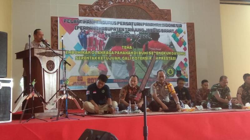 FOTO : Dokumentasi Pengurusa Perpani Tanjab Barat 2018-2022, Minggu (20/01/19)