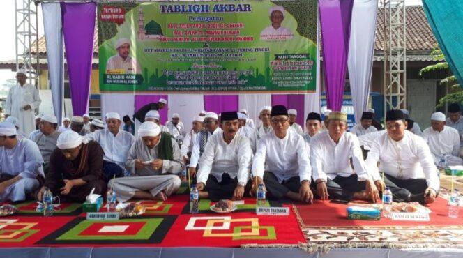FOTO : Dokumentasi Haul Syekh Abdul Qadir Al Jailani Majelis Ta'lim Al-hidayah Cabang 21 Tebing Tinggi, Minggu (10/02/19)