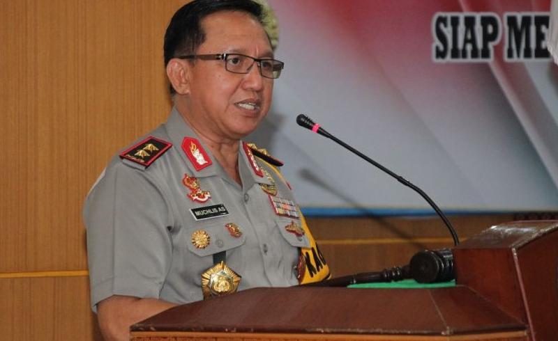 FOTO : Kapolda Jambi Irjen Pol Drs. Muchlis, AS, MH