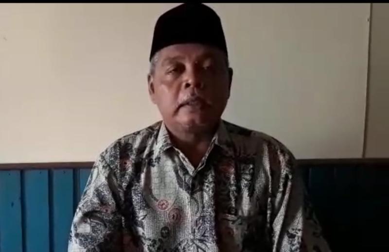 FOTO : Drs. Mahfudz, M.Ud, Ketua PCNU Kab. Tanjab Barat.