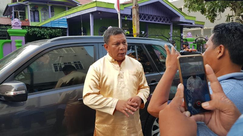 Kapolres Tanjung Jabung Barat AKBP. ADG Sinaga, S.IK