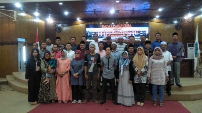 FOTO : Saat Kegiatan Galadi Persiapan Pelanyikan Anggota DPRD Tanjab Barat Terpilih Periode 2019-2024, Sabtu (24/08/19)