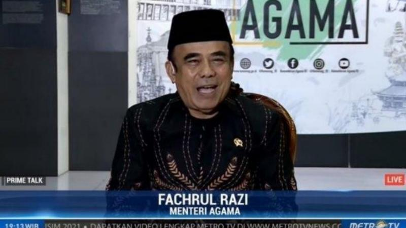FOTO : Fachrul Rozi, Menteri Agama RI