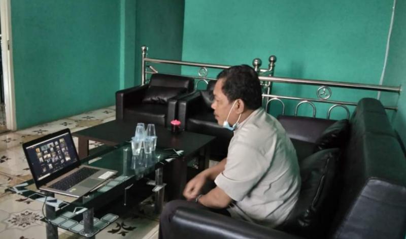 FOTO : Hadi Siswa, Ketua Bawaslu Tanjab Barat