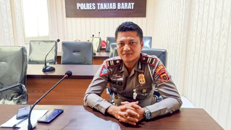 FOTO : Kasat Lantas Polres Tanjab Barat IPTU Eko Sutoyo, SH