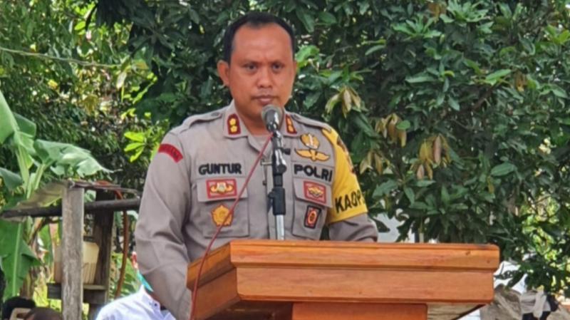 Kapolres Tanjung Jabung Barat AKBP Guntur Saputro, SIK, MH