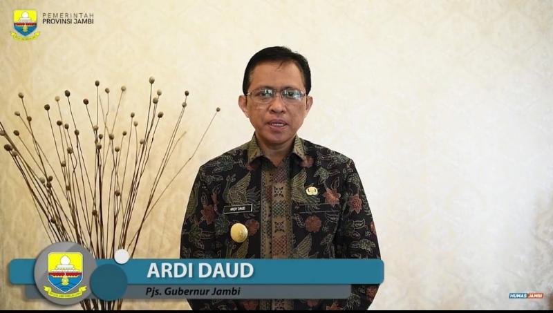 FOTO : Pjs. Gubernur Jambi Ardi Daud