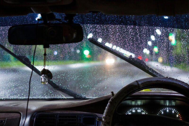 FOTO : Gambar Gelap Hujan Malam Hari
