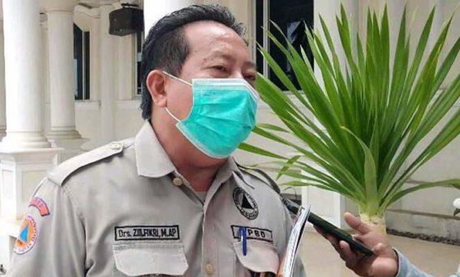 FOTO : Kepala Pelaksana BPBD Tanjab Barat. Zulfikri.