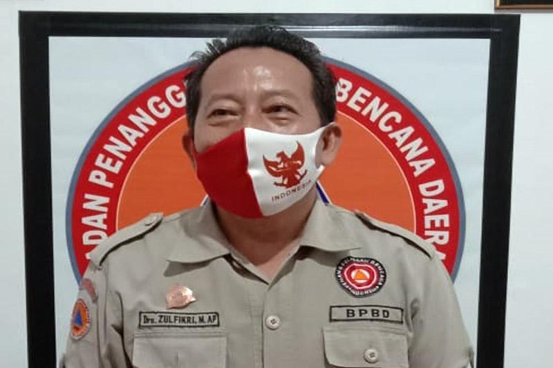 FOTO : Kepala Pelaksana Badan Penanggulangan Bencana Daerah (BPBD) Kabupaten Tanjabbar, Drs. Zulkifli, MM